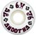 DOGTOWN K-9 SMOOTHS WHITE 52MM 92A (Set of 4)