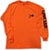LOWCARD WORK ORANGE LS M
