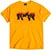 THRASHER CROWS GOLD SS M