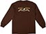 ANTI-HERO EAGLE DARK CHOCOLATE LS L