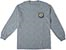 ANTI-HERO PIGEON ROUND SPORT GREY POCKET LS L
