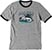 POLITIC GATOR RINGER ATHLETIC GREY SS M