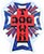 DOGTOWN CROSS LOGO USA FOIL STICKER 4\