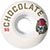 CHOCOLATE LUCHADORE STAPLE 56MM (Set of 4)