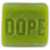 DOPE SKATEWAX BAR GREEN