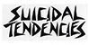 DOGTOWN SUICIDAL TENDENCIES LOGO WHITE 6.5\