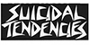 DOGTOWN SUICIDAL TENDENCIES LOGO BLACK 6.5\